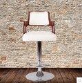 Ретро-бар стул в европейском стиле твердой древесины барный стул мода барный стул кресельный подъемник поворотный стул на стойке регистрации