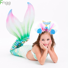Frigg Headband The Little mermaid Birthday Party Decoration Kids Mermaid Supplies Theme Favor Girl Gift