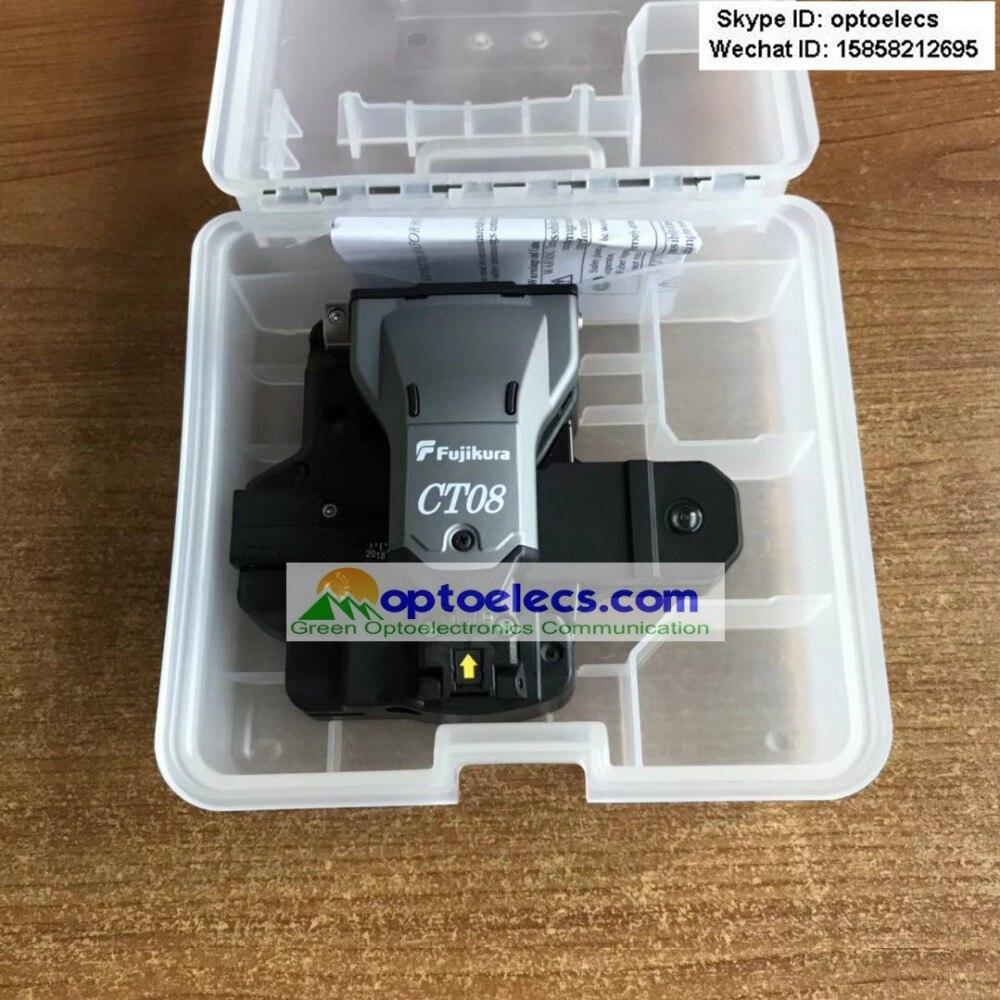 DHL Free Shipping 2pcs per lot ORIGINAL Latest Fujikura CT08 CT 08 high precision optical fiber
