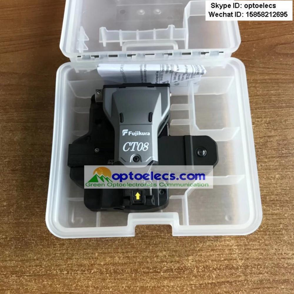DHL 送料無料 2 個あたりロットオリジナル最新フジクラ CT08 CT 08 高精度光ファイバ包丁 100% 新しい準備株式で  グループ上の 携帯電話 & 電気通信 からの 光ファイバ機器 の中 1