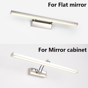 Image 2 - LED Mirror Light 40 50cm Waterproof Modern Cosmetic Wall Lamp Stainless Bathroom sconce lamps Cabinet lighting Decoration Lights