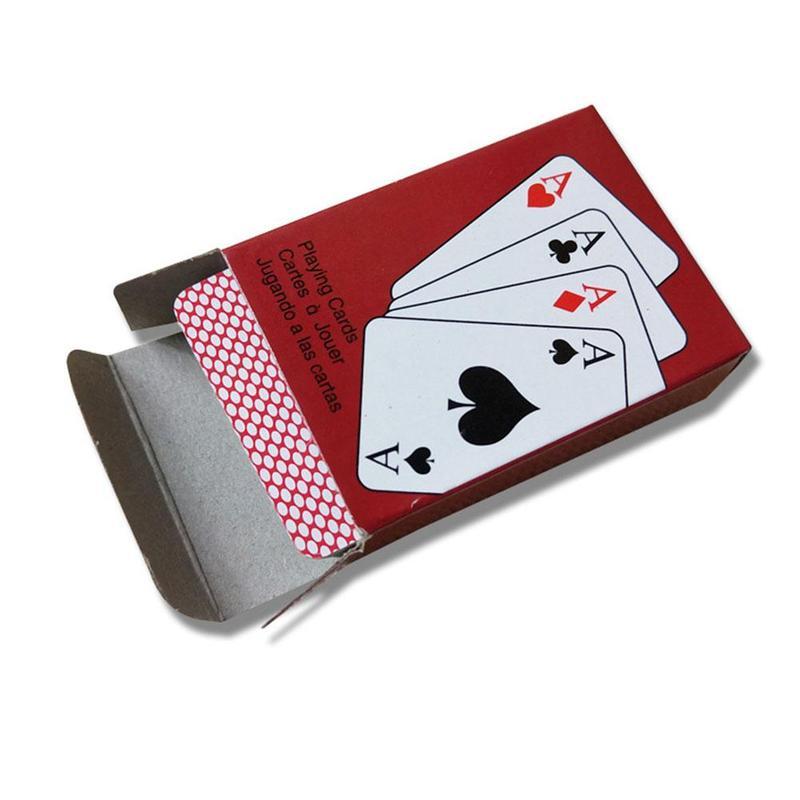 Cartas de póker para Juego Mini póquer pequeño portátil interesante juego de mesa de cartas 10 unids/lote ramas de flores secas espécimen marcadores Material DIY tarjeta prensado flor accesorios para pinturas para decoración de fiesta