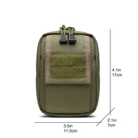 1000D MOLLE BOB PSK EDC Pouch DSLR Tactical Waist Pack Water Proof Cordura Outdoor Hunting Camp Hike Hiking Military TW P013