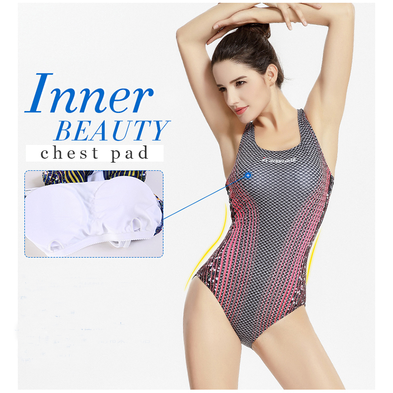 NIDALEE Professional Swimwear One Piece Competition Swimsuit Female Bather Swimming Suit For Women Bathing Suits Sport Bodysuit