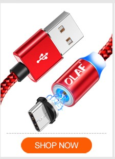 OLAF Magnetic Cable USB Type C Cable for Samsung s8 s9 Xiaomi Huawei mate 20 Lite Phone Charge Type-C Cable Magnet Charger Kabel