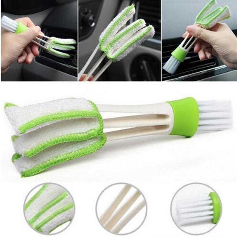 For Toyota Corolla Avensis Yaris Rav4 Auris Hilux Prius Prado Camry 40 Celica Fortuner Reiz Venza Highlander Car Cleaning Brush universal pu leather car seat covers for toyota corolla camry rav4 auris prius yalis avensis suv auto accessories car sticks