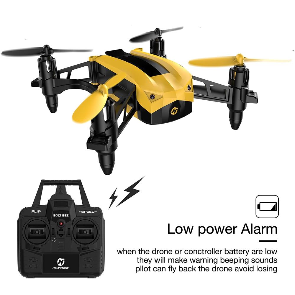 Holy Stone HS150 Bolt Bee Mini Racing Drone RC Quadcopter RTF 2.4GHz - დისტანციური მართვის სათამაშოები - ფოტო 4