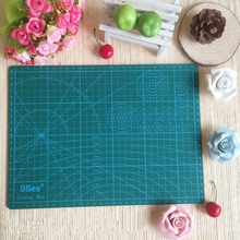 "PVC Cutting Mat a4 ""9 Sea"" Durable Self Healing Handmade DIY Quilting Accessories Flexible Green Patchwork Board Tool 30*22 cm"