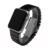 22mm 24mm de Alta calidad de Plata Depolyment Correa Correa de Reloj de Cerámica Blanco y Negro Pulseras de Apple reloj inteligente 38mm 42mm