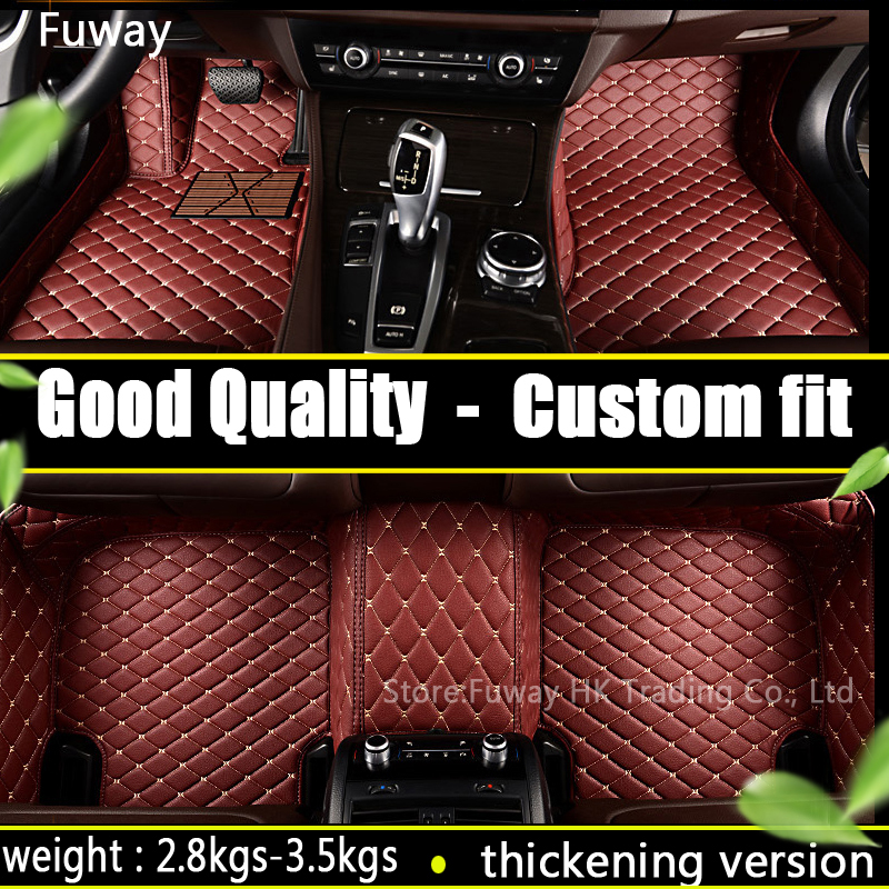 Good quality waterproof  Custom car floor mats for BMW X6  2008-2017 car styling floor mat Foot Carpets Rugs car-styling custom make waterproof leather special car floor mats for audi q7 suv 3d heavy duty car styling carpet floor rugs liners 2006