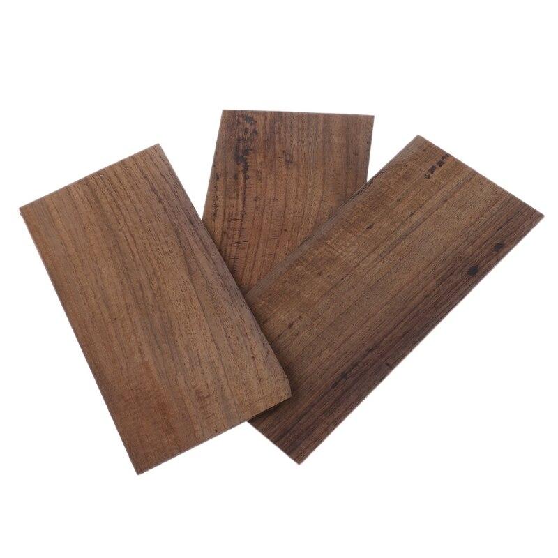 buy 3pcs guitar accessories rosewood head veneer plate for luthier diy tool. Black Bedroom Furniture Sets. Home Design Ideas