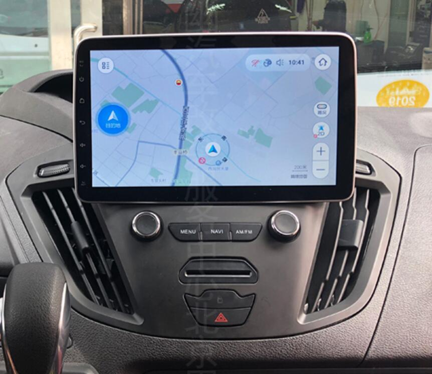 """Discount 2Din 9""""Android 9.0 Car DVD Radio Player Fit Ford Transit Custom Tourneo 2013 - 2018 GPS Navigation 8Core 4G+364G WIFi Multimedia 1"""
