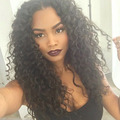 Kinky Curly Silk Top Full Lace Wigs 8A Silk Base Lace Front Human Hair Wigs For Black Women Brazilian Hair Lace Frontal Wig