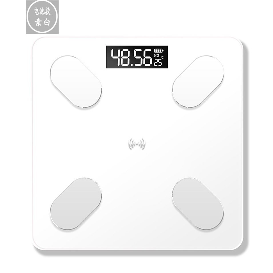 Body Fat Scales Floor Scientific Electronic LED Digital Weight Bathroom Household Balance Bluetooth APP Android or IOS