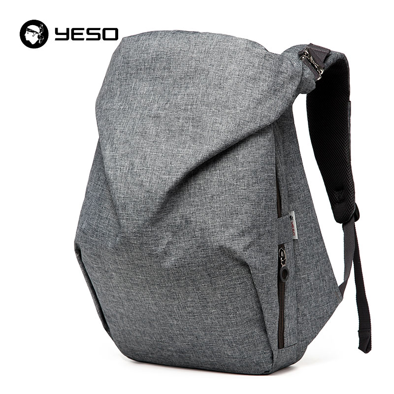 2016 YESO New Casual Backpack/handbag Men Asymmetrical Travel Bag Multifunction Waterproof Polyester School Backpack For Teenage small grill cover
