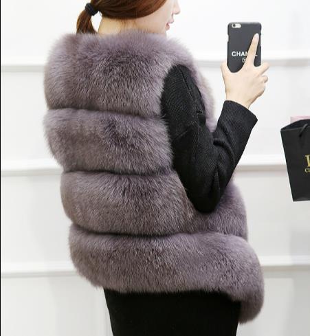 Fourrure Z2 Artificielle 2019 Femmes La De Plus Gilets Taille Femme Chaud D'hiver Gilet Faux Moelleux Vestes Manteau xY8qadn8w
