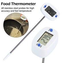 Термометр для барбекю, мяса, вращающийся цифровой термометр для еды, печь для шоколада, молока, воды, масла, кухонный электронный зонд