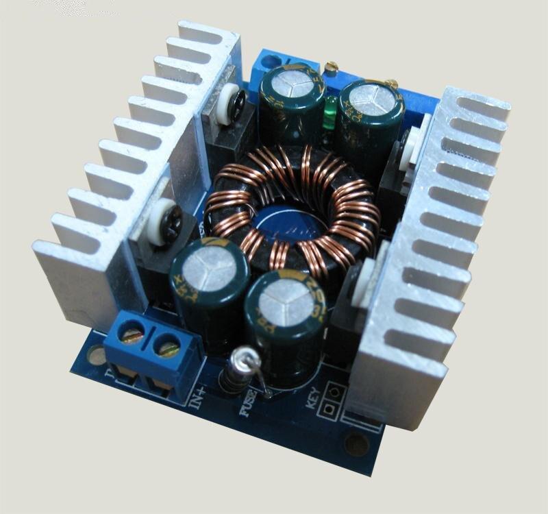 Otomatik Boost Buck Dönüştürücü CC CV 5 v-30 V için 1-30V 8A 12 V/ 24V Regülatörü 100W