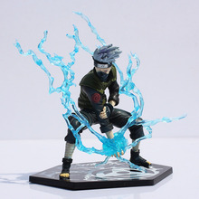 อะนิเมะอะนิเมะญี่ปุ่นNaruto Hatake Kakashi PVC Action Figureของเล่นLightning Blade 16ซม.Greatของขวัญจัดส่งฟรี