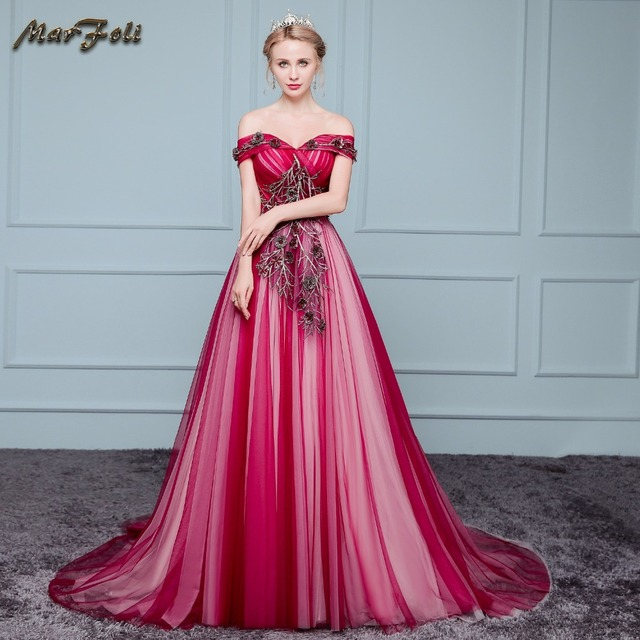 Marfoli Luxury High end Wedding Dresses 2017 With Beads and Lace A ...