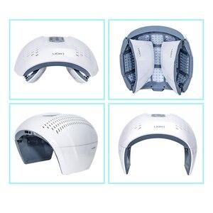 Image 5 - Najnowszy PDT LED Light Photon odmładzanie skóry urządzenie do usuwania trądziku urządzenie przeciwzmarszczkowe LED maska na twarz pielęgnacja skóry
