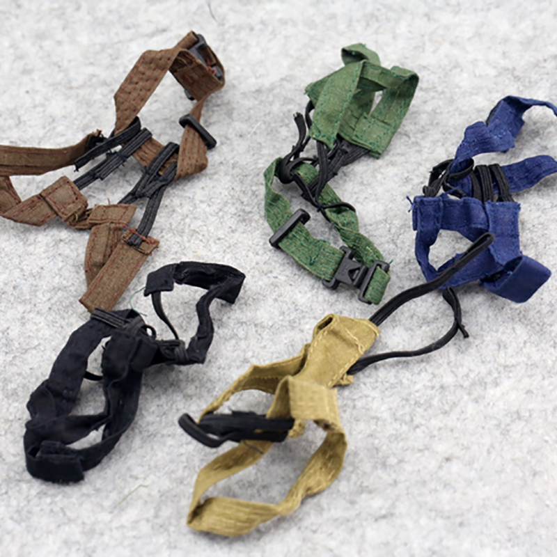 <font><b>1/6</b></font> Scale Soldier Accessories Military action figures Hot Strap Vest <font><b>Belt</b></font> Weight 5 Colors for 12