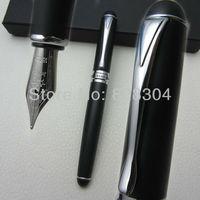 Бесплатная доставка Высокое качество Авторучка Jinhao матовый черный серебристый