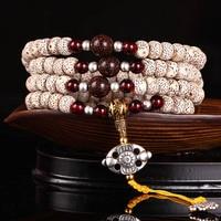 Hainan Bodhi 108 Bracelet iron egg Xingyue Bodhi Bodhi paragraph Gaomi sub wooden beads Bracelets
