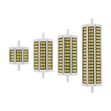 1pcs 10W 20W 25W 30W R7S LED Milho Bulbo 78 milímetros 118 milímetros 135 milímetros 189 milímetros AC 220V SMD 5730 Lâmpada Substituir Luz Halógena Holofote de Iluminação