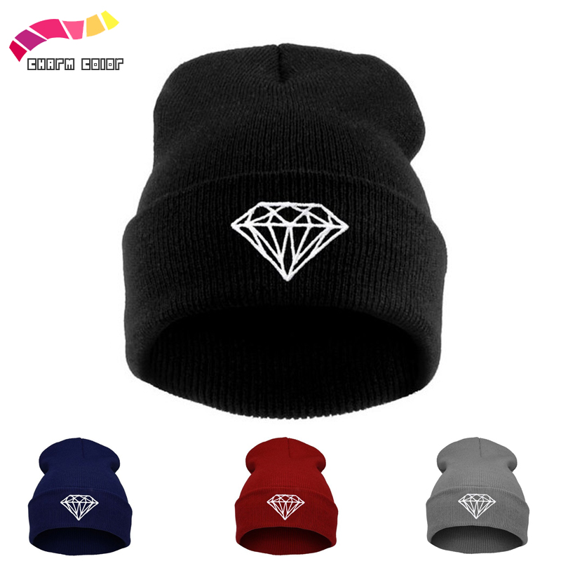 New Winter Knitted Hat For Women Hats Men Skullies Beanies Bad Hair Day Solid Women's Cap Warm Hat Unisex Beanie Wholesale new winter beanies solid color hat unisex warm grid outdoor beanie knitted cap hats knitted gorro caps for men women
