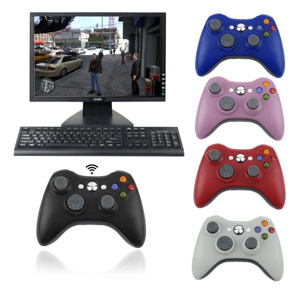 Télécommande sans fil 2.4G pour ordinateur Xbox 360 avec récepteur PC avec manette USB pour contrôle de manette Microsoft Xbox360|controller for computer|pc controller|computer controller -