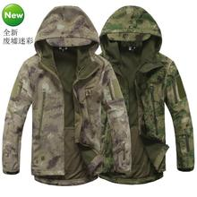 TAD V4 Military Soft Shell Tactical Jacket Outdoor Sports Hiking Hunting Army SWAT Training Waterproof Outerwear Coat Clothing