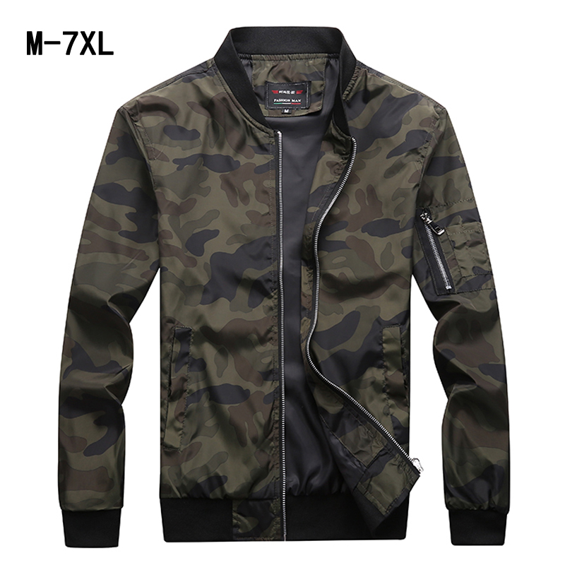 Spring Autumn Mens Casual Jacket Men Clothes Male Fashion Fitted Large Size M-7XL Men Waterproof Clothes Zipper Jackets