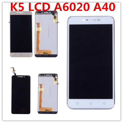 For Lenovo K5 LCD Touch Screen Digitizer With Frame For Lenovo Vibe K5 LCD Display A6020A40 A6020 A40 #4