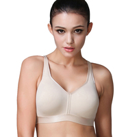 Women's Super Soft Bra Comfort Full Coverage Underwear Breathable Wire Free Bras For Women
