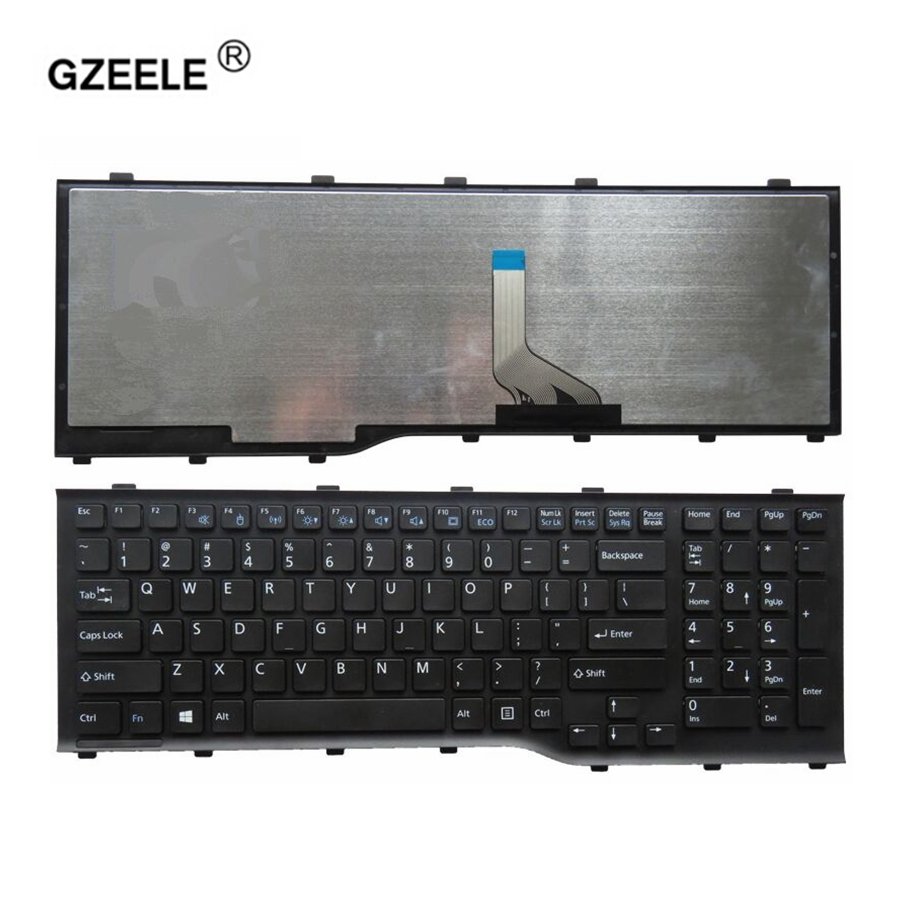 купить GZEELE New US Laptop Keyboard For FUJITSU Lifebook AH532 A532 N532 NH532 PN:MP-11L63US-D85 Notebook Replacement english keyboard по цене 1159.36 рублей