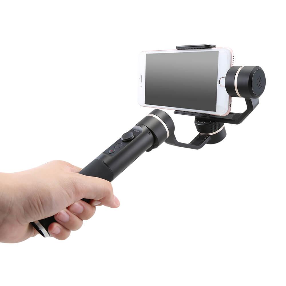 [En Stock] Feiyu Tech SPG Vision à la vapeur 3 Aixs cardan de Smartphone portable avec cardan de poche à Mode Vertical intelligent