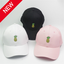 2019 new Pineapple Embroidered Baseball Cap Funny Fresh Fruit Hipster Hat Dad