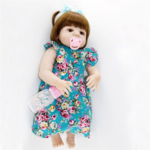 fashion girl reborn baby dolls and real babies clothes silicone vinyl body bebe doll reborn alive bath toy high quality kids gif new 57cm handmade reborn baby silicone baby dolls for sale full silicone girl bath real vinyl bebe alive brinquedos bonecas