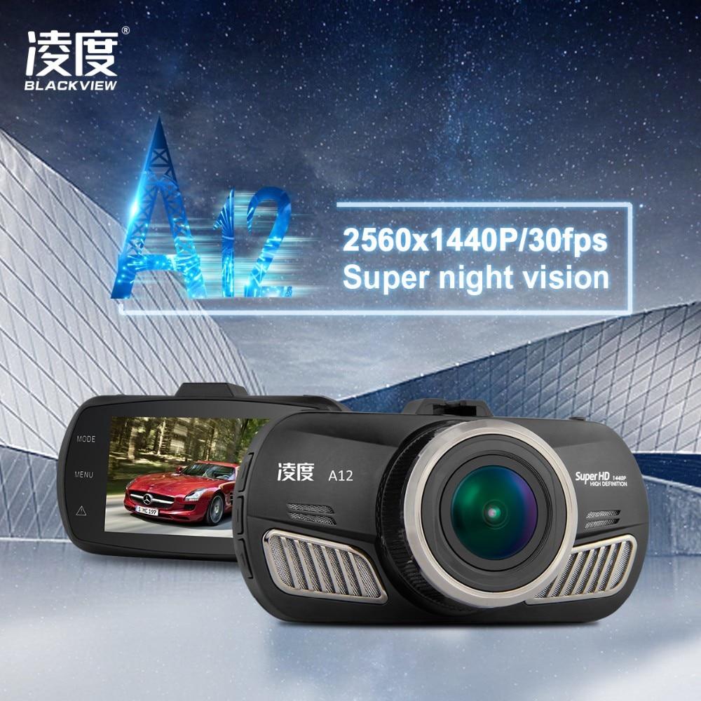 Blackview A12 Ambarella A12 Car DVR 2 7 Inch Dash Cam 5 0MP 170 Degree 1440p