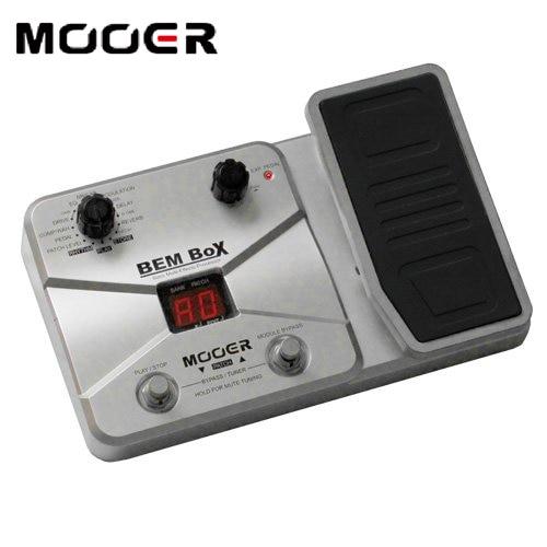 mooer bem box bass mutil effects processor 8 effect modules 55 effect types 40 drum rhythms. Black Bedroom Furniture Sets. Home Design Ideas