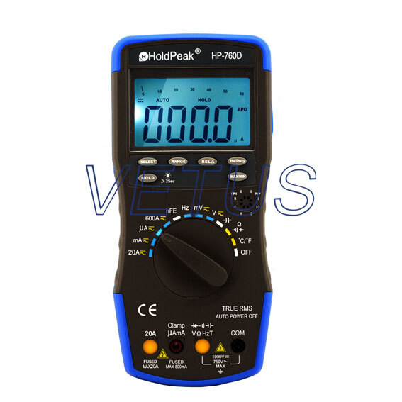 10Hz~10MHz Auto Range high precision Digital Multimeter DMM HP-760D HP760D 100% original fluke 15b f15b auto range digital multimeter meter dmm