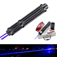 Flashlight Burning Game / Burning light cigars / candle High quality Lengthen Powerful Blue Laser Pointers 450nm Sight