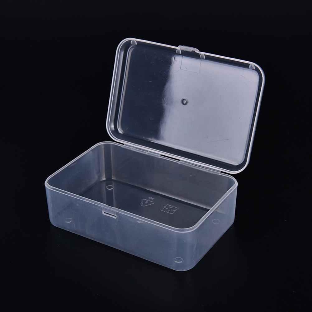 Transparent Plastic Storage Box For Cosmetics Jewelry Collection Parts Home  Organization Multipurpose Display Element Small Case In Storage Boxes U0026 Bins  ...