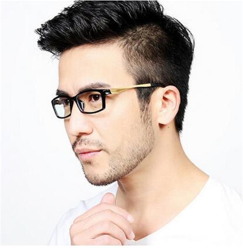 Kpop Glasses Frame : Fashion brand designer eyeglasses frame men Korean glasses ...