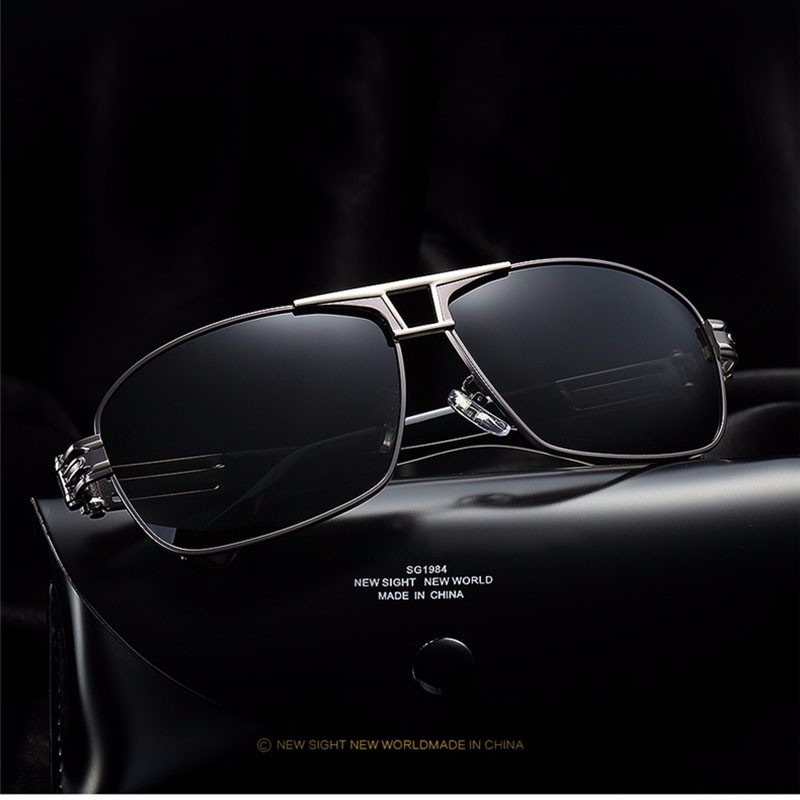 Roupai Polarized Super Cool Military Glasses For Police Driving Mens Square Anti Glare Sunglasses UV400 377 (11)