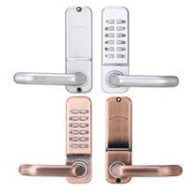 цена на Digital Password Door Lock Mechanical Code Keyless Entry Door Lock Security Electronic Combination Door Lock Keypad Deadbolt
