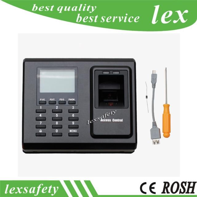 tcp ip fingerprint time attendance time clock employee electronic