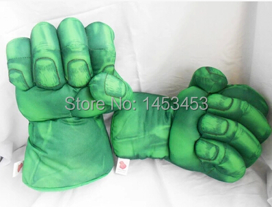Incredible Hulk Smash Hands set Marvel superhero cosplay costume pretend play Gloves