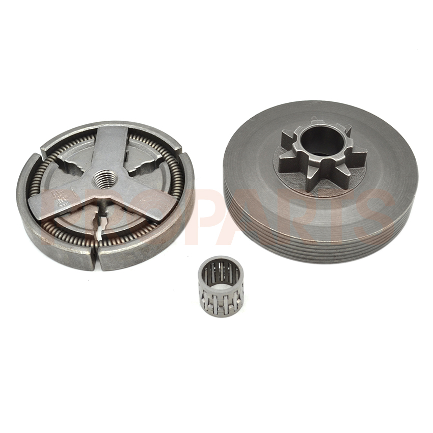 Clutch Drum Needle Bearing Fit For Petrol Chain saw 45cc 52cc 58cc 4500 5200 5800 Replacement Parts 45cc 52cc 58cc chainsaw clutch replacement for poulan 4500 5200 5800 chain saw parts accessory